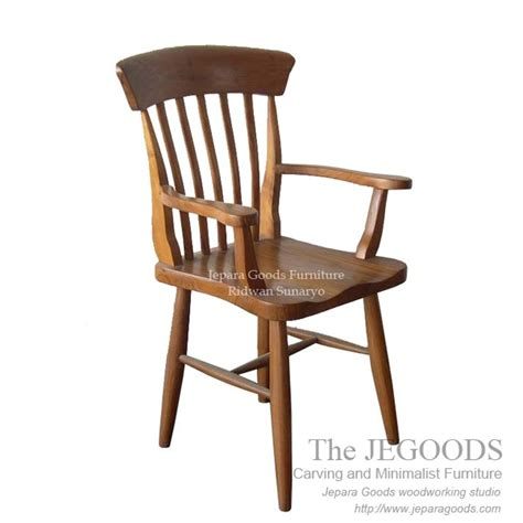 Kursi Cafe Chairman 187 country koboy arm chair kursi cafe jati jepara model