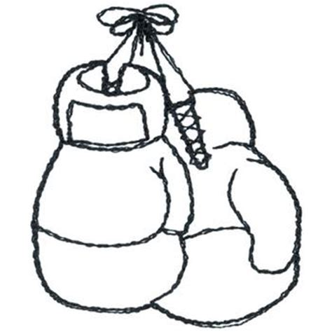 Dakota Collectibles Embroidery Design Boxing Gloves Boxing Gloves Coloring Pages