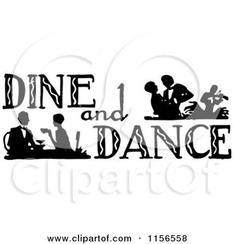 Dane And Dine Kresta Black royalty free rf clipart illustration of a black dancer