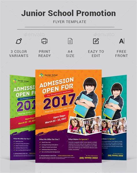 27 School Flyer Templates Psd Vector Eps Jpg Download Freecreatives Free School Flyer Templates