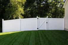 vinyl pvc white privacy fencing manchester tn
