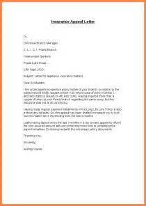 Appeal Letter Of Termination Sle Insurance Appeal Letter Itubeapp Net