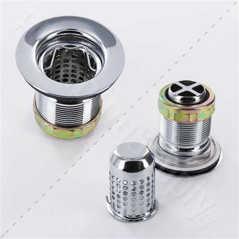 deep basket strainer for kitchen deluxe basket strainers for kitchen and bar sinks