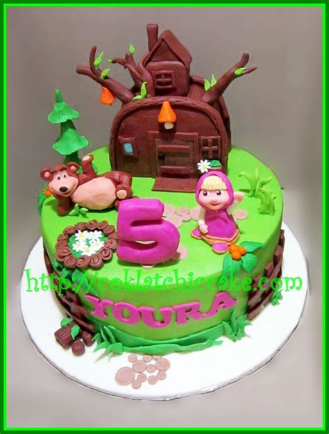 Hiasan Kue Toppers Kue Marsha And The 5 pin tumpeng kue ulang tahun anak ultah tart genuardis