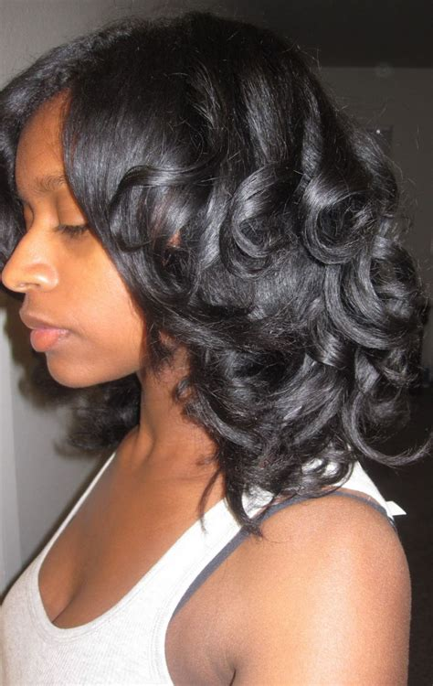 cool hairstyles from rollers for black women image gallery natural roller set hairstyles