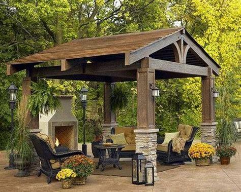 backyards with gazebos 22 beautiful garden design ideas wooden pergolas and
