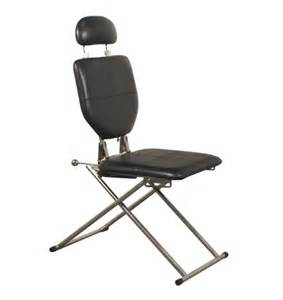 Tanning Bed Supplies Mobile Shampoo Chair In Black
