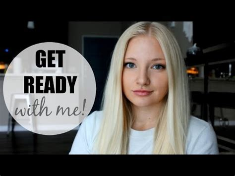 my everyday makeup routine get ready with me youtube get ready with me everyday fall makeup routine youtube