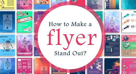How To Make A Picture Stand Out Of Paper - how to make a flyer stand out rubyprint medium