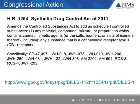 controlled substances act section 102 trends report on changes in the designer drug market