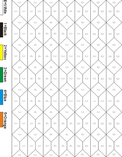 printable hidden picture color by number hidden pictures worksheet chick color by numbers