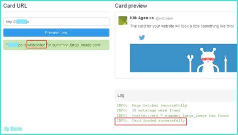 membuat twitter di website memanfaatkan twitter cards untuk website anda