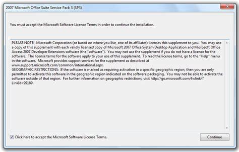 microsoft office 2007 service pack 3 sp3 sp3
