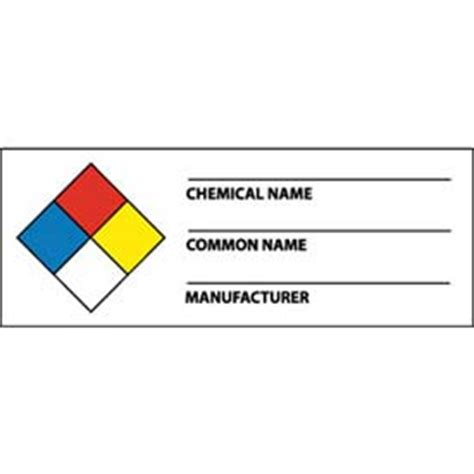 printable nfpa labels signs hazmat nmc wol8alv nfpa chemical label 1 1 2 quot x
