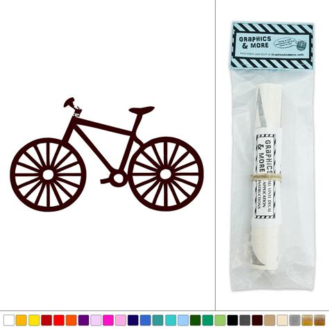 Fahrrad Sticker by Bike Bicycle Vinyl Sticker Decal Wall D 233 Cor