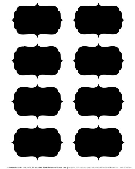 Chalk Labels In Fillable Templates Worldlabel Blog Labels Free Printable Templates