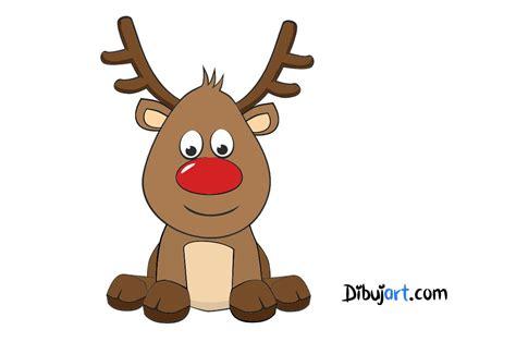 in color reno como dibujar a rodolfo el reno el reno de papa noel