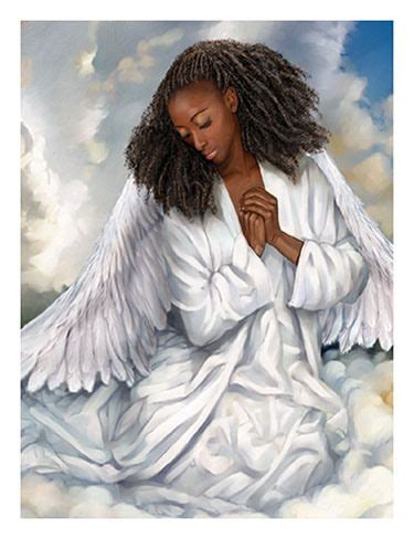 african american angel angels pinterest africans angel  african american art