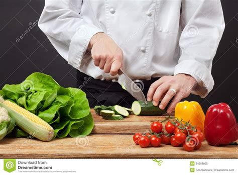 chopping vegetables royalty free stock photo image 24558805
