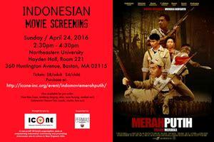 youtube film indonesia merah putih indonesian movie screening merah putih 04 24 16