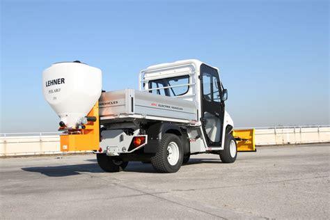 snow salt spreader maintenance utility vehicles for municipalities
