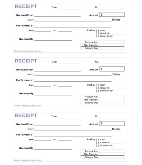 Receipt Template Construction Work by 17 Construction Receipt Templates Free Word Pdf Formats