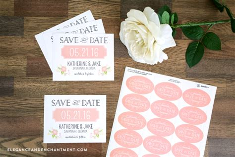 The Date Calendar Card For Bridesmaid Box Free Template by Ideas Design Your Own Save The Date Cards Complete
