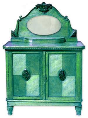 painted furniture for cottage style decor pictures