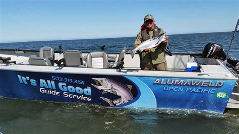 alumaweld boats oregon alumaweld for salmon fishing it s all good guide service