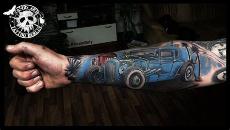 hotrod tattoo rod search pinteres