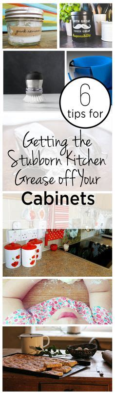 how to remove grease off kitchen cabinets 1000 images about housework housekeeping on pinterest