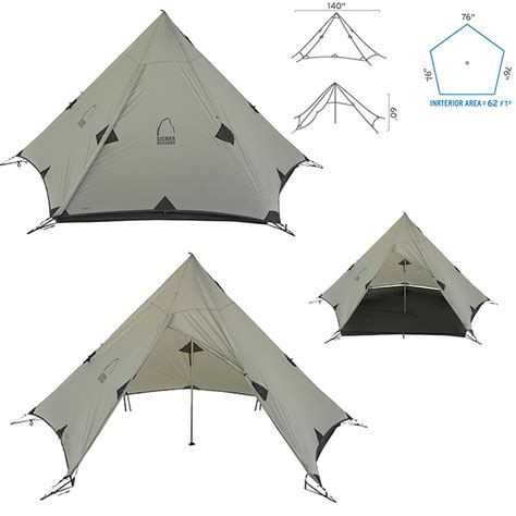 Origami Tent - new 2012 designs origami 3 tarp ultralight tent grey