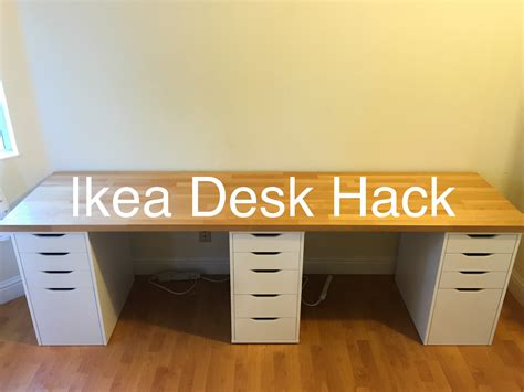 ikea hacks desk ikea desk hack youtube