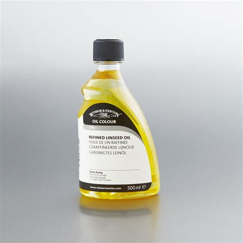 acrylic paint linseed winsor newton refined linseed painting mediums