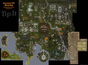 Rs World Map by Tip It Runescape Help F2p World Map The Original