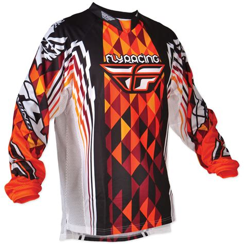 motocross jerseys and fly racing 2012 youth kinetic mx race shirt mtb enduro