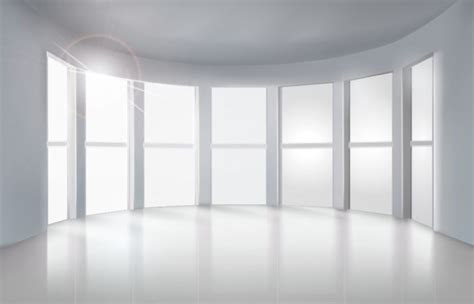 White Empty Room by High Quality Vector Illustration Of An Empty Room Interior