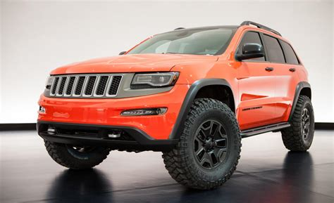 Jeep Trailhawk Lifted Jeep Grand Trailhawk Ii Concept