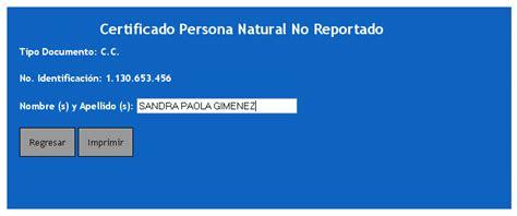 consultar certificado de antecedentes en colombia certificado contraloria contraloria certificado
