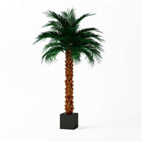 artificial palm tree artificial palm tree 3d model cgtrader