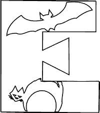 halloween alphabet coloring pages halloween pages bubble words coloring pages