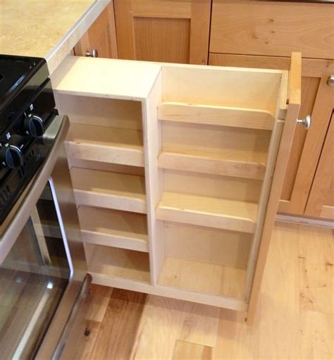 cabinet spice rack pull out best 25 wine rack cabinet ideas on built in