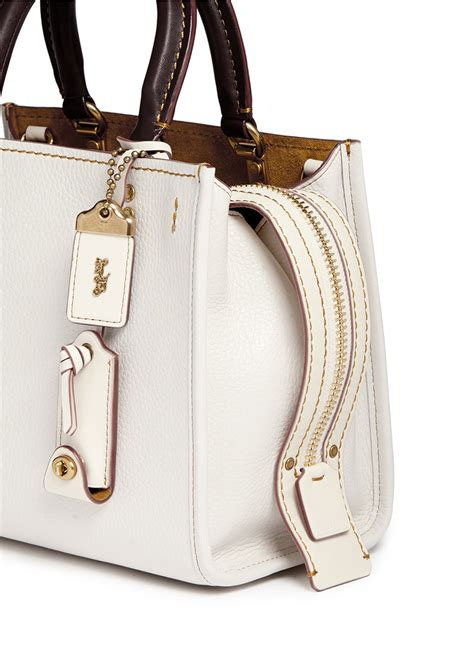 Coach 1941 Rogue 25 In Glovetanned Pebbled Leather coach rogue 25 glovetanned leather satchel lyst