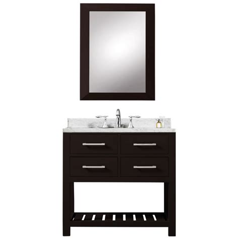 30 Inch Bathroom Vanity With Drawers 30 Inch Single Sink Bathroom Vanity In Espresso With Soft Closing Drawers Uvwcmadalyn30e