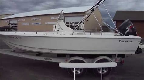 tidewater boats opinions 2007 tidewater 21 bay boat clemons boats youtube