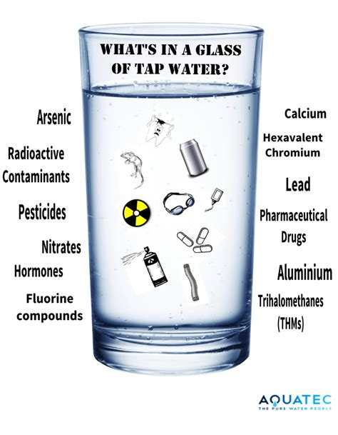 what is in what is in tap water aquatec water