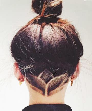 ladies undercut pattern simple lotus undercut hair designs for the most bold and