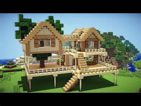 one simple country girl project 2012 my home minecraft starter house tutorial how to build a house