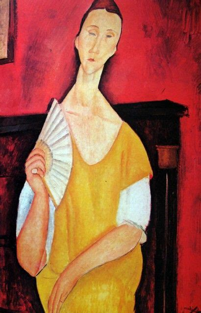 modigliani with a fan pin by tatjana martinovic on