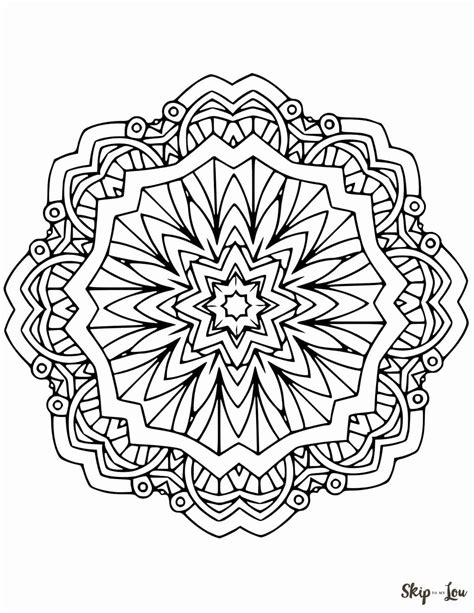 mandala coloring pages for beautiful free mandala coloring pages skip to my lou